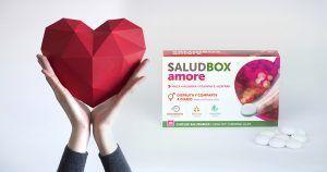 SaludBox Amore | Chicles Funcionales con Maca